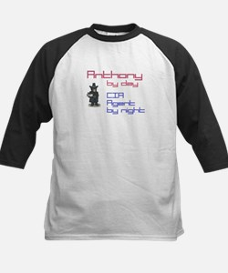 Anthony - CIA Agent by Night Tee