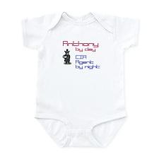 Anthony - CIA Agent by Night Infant Bodysuit