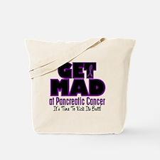 Get Mad At Pancreatic Cancer 2 Tote Bag