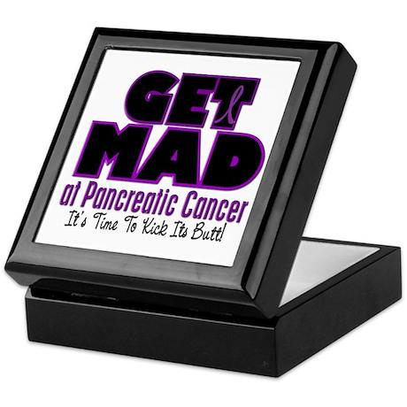 Get Mad At Pancreatic Cancer 2 Keepsake Box