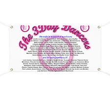 3-Day Dancers Placard Banner