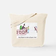 Forgetful Judge Tote Bag