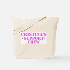 Cristins Support Crew Tote Bag