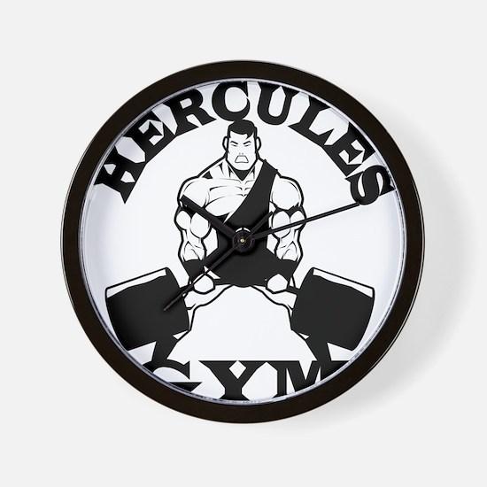 Hercules Gym Wall Clock