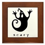 scary! Framed Tile