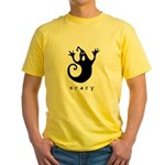 scary! Yellow T-Shirt