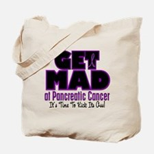 Get Mad At Pancreatic Cancer 3 Tote Bag