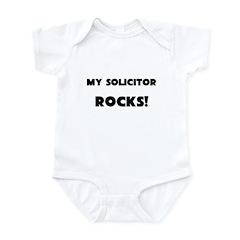 MY Solicitor ROCKS! Infant Bodysuit