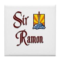 Sir Ramon Tile Coaster
