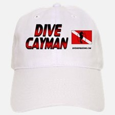 Dive Cayman (red) Baseball Baseball Cap #1