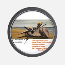 Cute Audubon wild bird Wall Clock