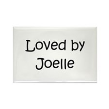 Funny Joelle Rectangle Magnet (10 pack)