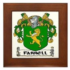 Farrell Coat of Arms Framed Tile