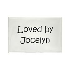 Funny Jocelyn Rectangle Magnet