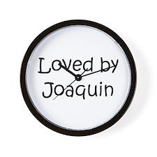 Funny Joaquin Wall Clock
