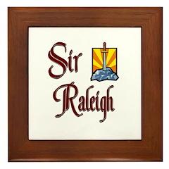 Sir Raleigh Framed Tile
