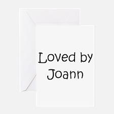 Unique Joann Greeting Card