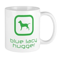 Blue Lacy Mug