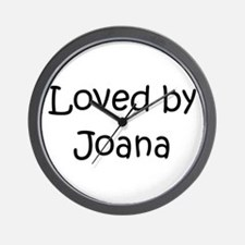 Cute Joana Wall Clock