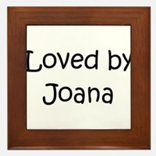 Unique Joana Framed Tile