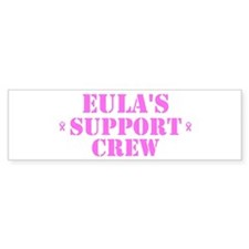 Euls Support Crew Bumper Bumper Sticker