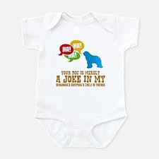 Bergamasco Sheepdog Infant Bodysuit