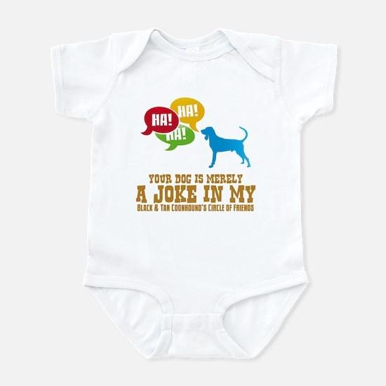 Black & Tan Coonhound Infant Bodysuit