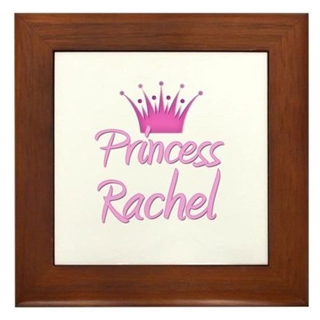 Princess Rachel Framed Tile