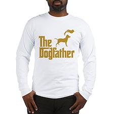 Blue Lacy Long Sleeve T-Shirt