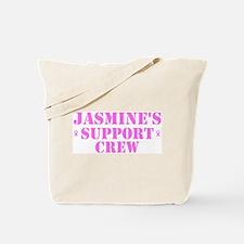 Jasmine Support Crew Tote Bag