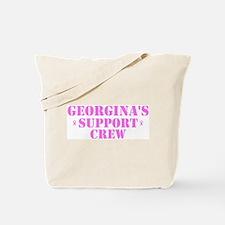 Georgins Support Crew Tote Bag