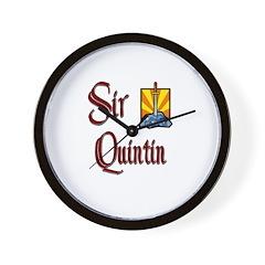 Sir Quintin Wall Clock