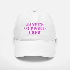 Janet Support Crew Baseball Baseball Cap