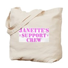 Janette Support Crew Tote Bag
