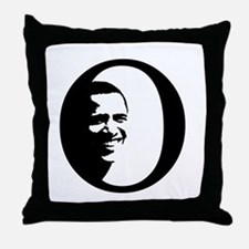 The Obama O Throw Pillow