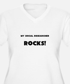 MY Social Researcher ROCKS! T-Shirt