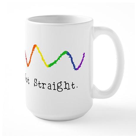 Riyah-Li Designs Not Straight Large Mug