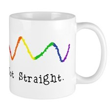 Riyah-Li Designs Not Straight Mug