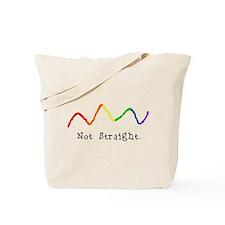 Riyah-Li Designs Not Straight Tote Bag