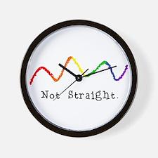 Riyah-Li Designs Not Straight Wall Clock