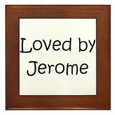 Cool Jerome Framed Tile