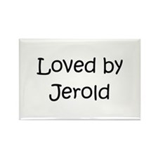Funny Jerold Rectangle Magnet
