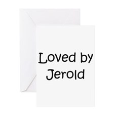 Jerold Greeting Card
