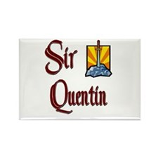 Sir Quentin Rectangle Magnet
