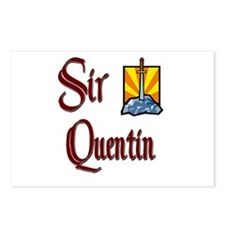 Sir Quentin Postcards (Package of 8)