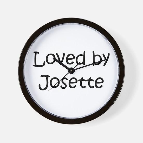 Cute Josette Wall Clock