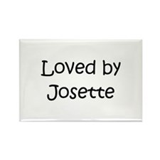 Cute Josette Rectangle Magnet