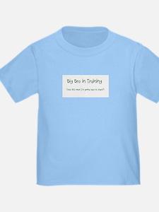 Big Bro in Training Toddler Shirt