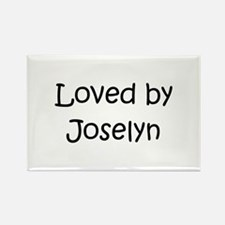 Cute Joselyn Rectangle Magnet