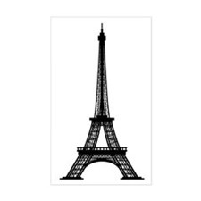 Eiffel Tower Rectangle Decal